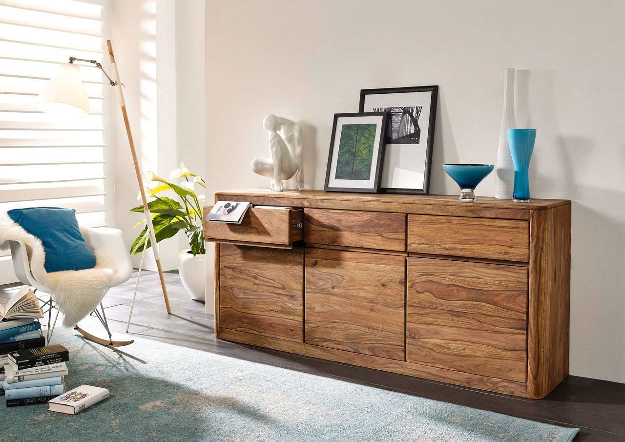 Sideboard III New York Sheesham Massivholz