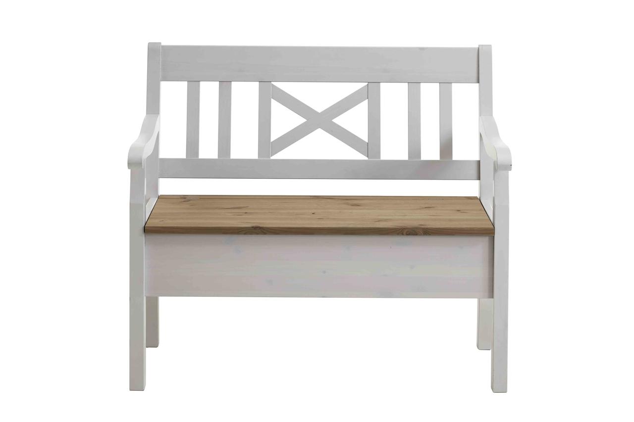 Sitzbank Fjord 105 cm mit Armlehnen