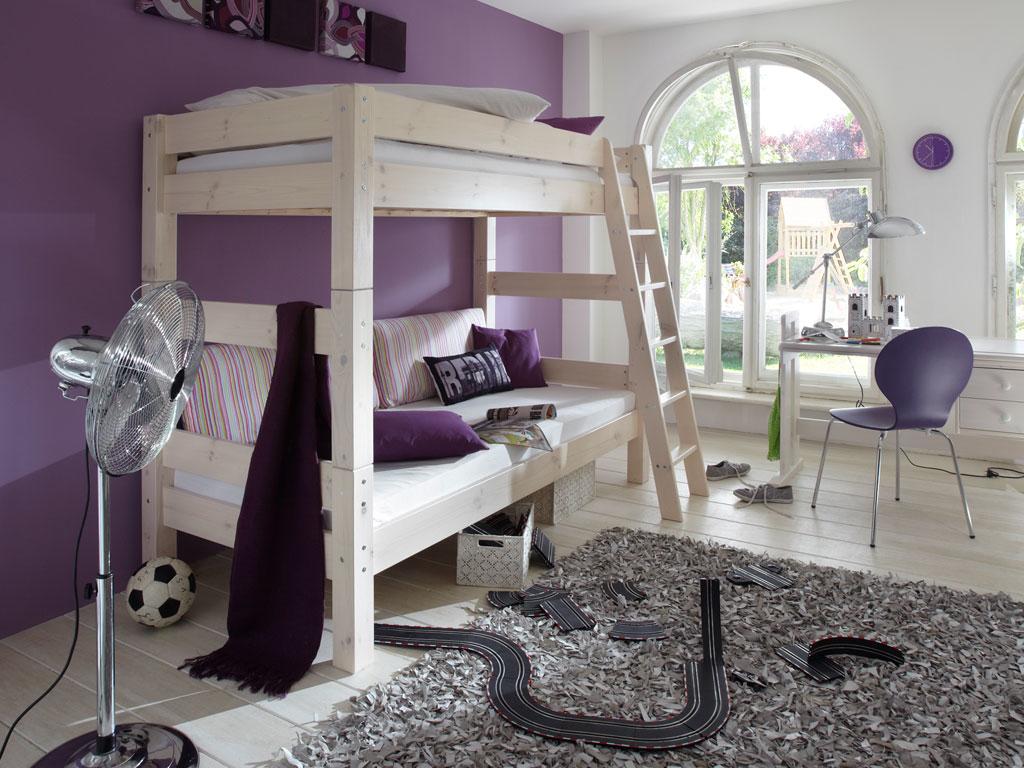 Etagenbett Kinder Vollholz : Kinderzimmer einrichten mit woodland kindermöbel die mitwachsen