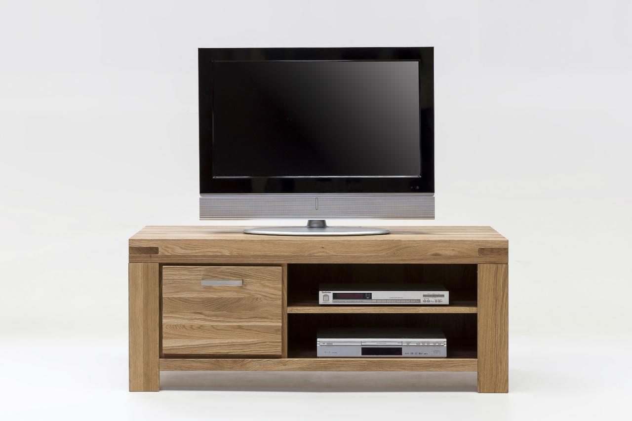 TV-Kommode Schrank Kari 125 cm Massivholz