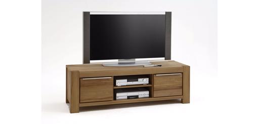 eine tv kommode mit viel platz die massivholz serie nena von elfo ist in massiver kernbuche oder wildeiche bestellbar dieses lowboard hat 2 offene facher
