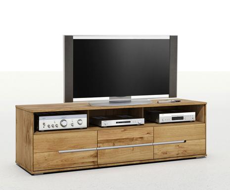 Elfo TV-Schrank Lowboard Lissy aus Massivholz