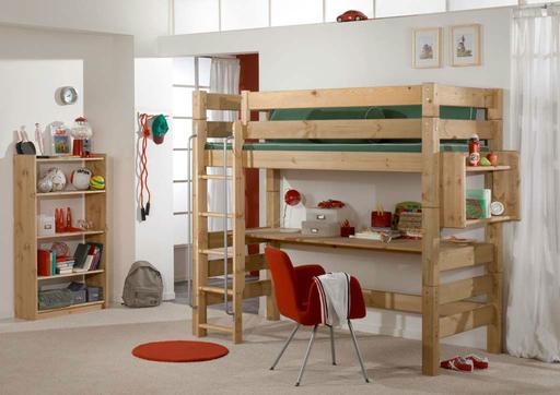 g nstige hochbetten mit schreibtisch, kinderzimmer hochbett mit schreibtisch von moby günstig bestellen, Design ideen