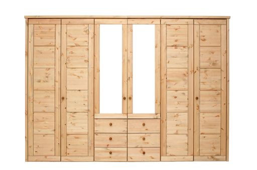 AuBergewohnlich Echtes Massivholz Bringt Natürliches Flair In Das Schlafzimmer. Schöner  Massivholz Kleiderschrank ...