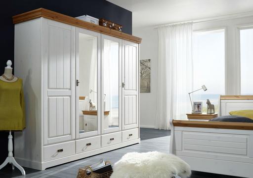 Kleiderschrank skandinavisch weiß SKANDIC von G&K günstig bestellen ...