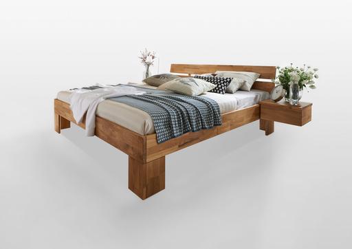 Schlafzimmer Bett aus Massivholz Modern Zen von Lars Olesen günstig ...
