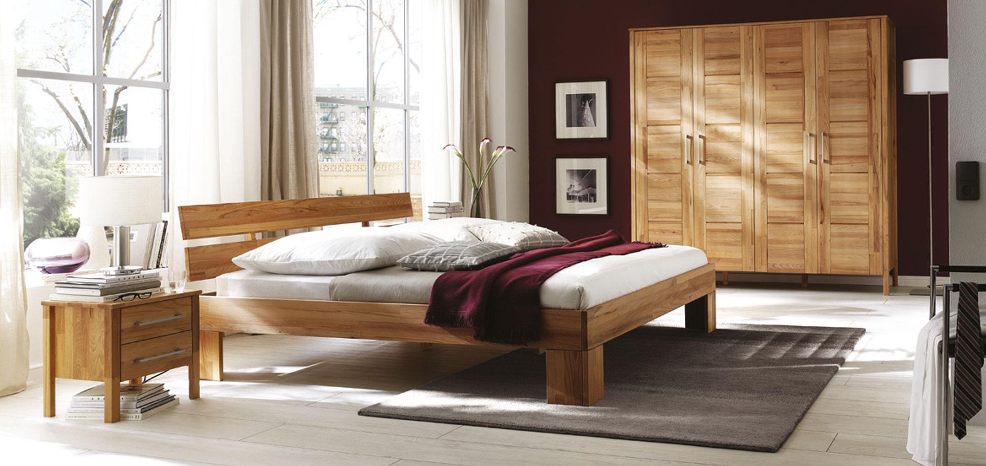 Massivholz Schlafzimmer Modern Zen, Bild 2