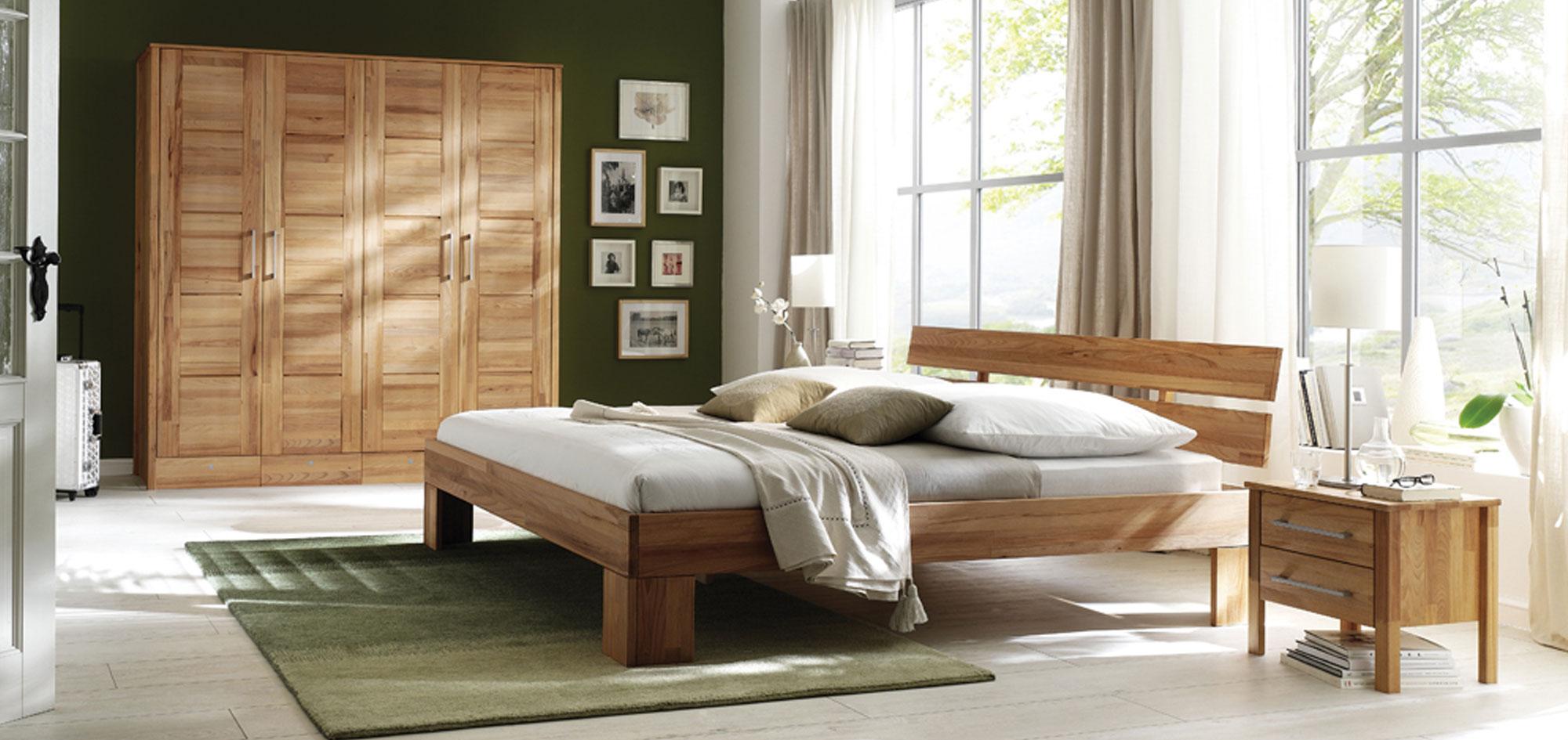 Massivholz Schlafzimmer Modern Zen, Bild 3