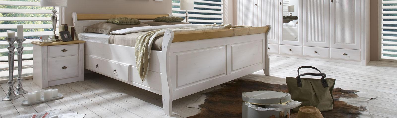 Schlafzimmer Möbel aus Massivholz skandinavisch
