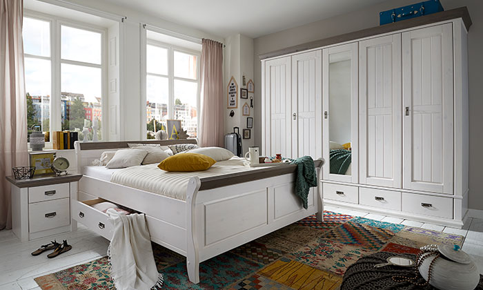 Schlafzimmer Mobel Aus Massivholz Skandinavisch Skanmobler