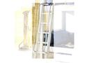 Geländer f. Leiter, 2er Set – 10x145cm