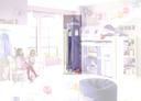 Leiterturm mit Krone, lavendel/hellesFlieder