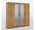 4-türig, Mitteltüren mit Spiegel