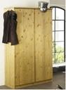 Kleiderschrank, 205 x 101 x 55/60 cm mit Softclose