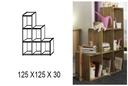Raumteiler, 125 x 125 x 30 cm