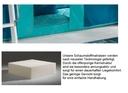 Schaumstoffmatratze, mit Multi Color Bezug aquamarine/dunkelcyan, 12x90x200 cm