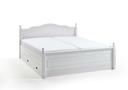 weiss - 188x213x100 cm - Doppelbett 180x200 cm