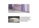 Schaumstoffmatratze, mit Multi Color Bezug hellesFlieder/lavendel, 12x90x200 cm