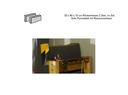 Rückenkissen 35x90x10 grau/gelb